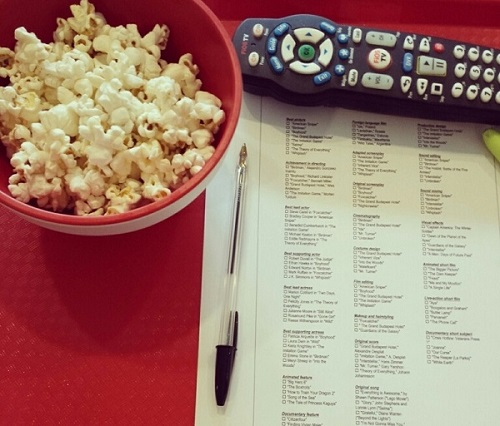 Golden Globes 2019_Popcorn Snacking Ballot