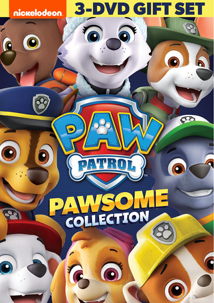 PAW Patrol PAWsome DVD Front