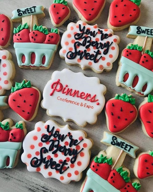 Pinners Pinterest Conference Sugar Cookies