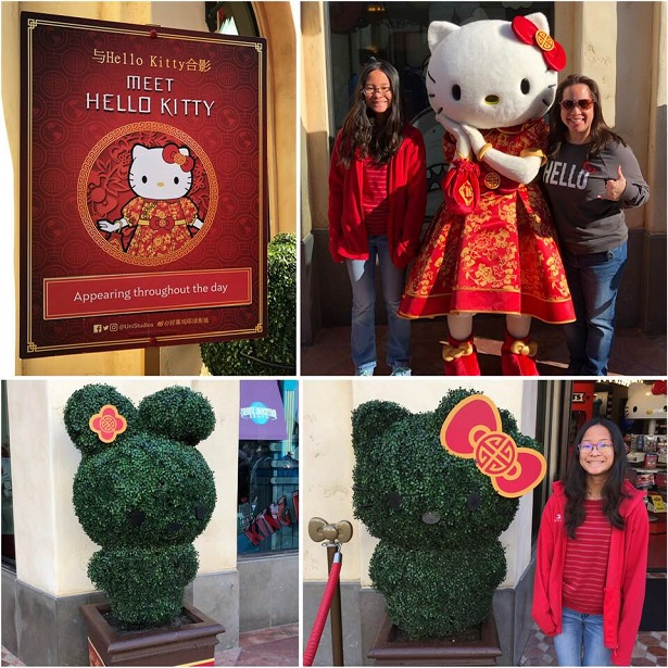 Lunar New Year - Universal Studios Hello Kitty