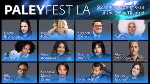 PaleyFest LA 2019 Cast