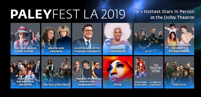 PaleyFest LA 2019 TV Shows
