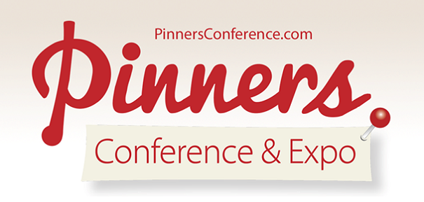 Pinners Pinterest Conference Rectangle Logo