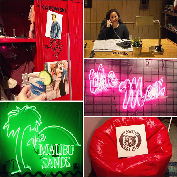Saved by the Max Malibu Sands collage