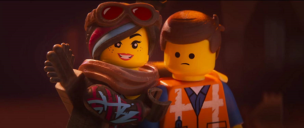 The LEGO Movie 2 Lucy and Emmet