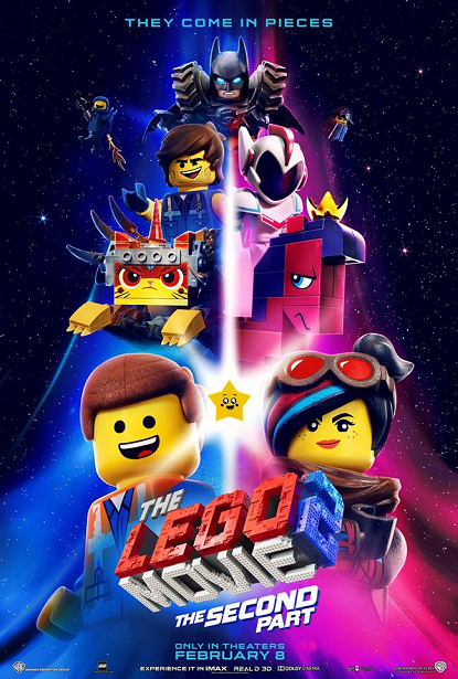 The LEGO Movie 2 Poster - LEGO Space