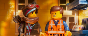The LEGO Movie 2 Wyldstyle and Emmet