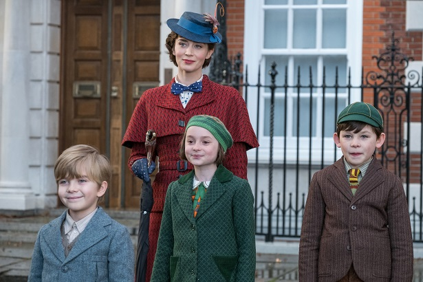 Mary Poppins Returns with children