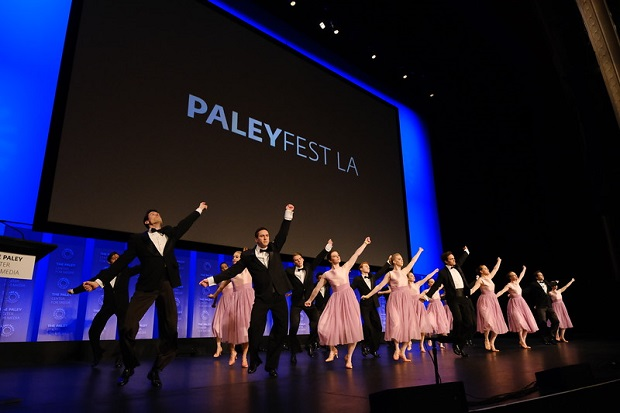Dancers at Marvelous Mrs. Maisel PaleyFest