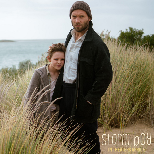 Storm Boy - Film Still of Finn Little and Jai Courtney