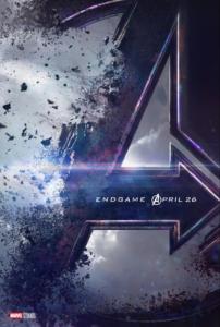 Avengers Endgame Title Poster