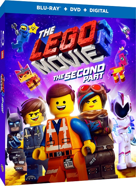 The LEGO Movie 2 DVD cover