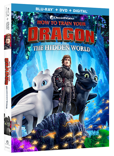 How to Train Your Dragon 3 Bluray Packaging