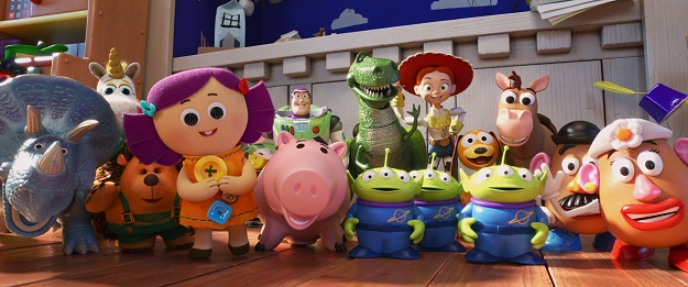 Toy Story 4 Group Photo