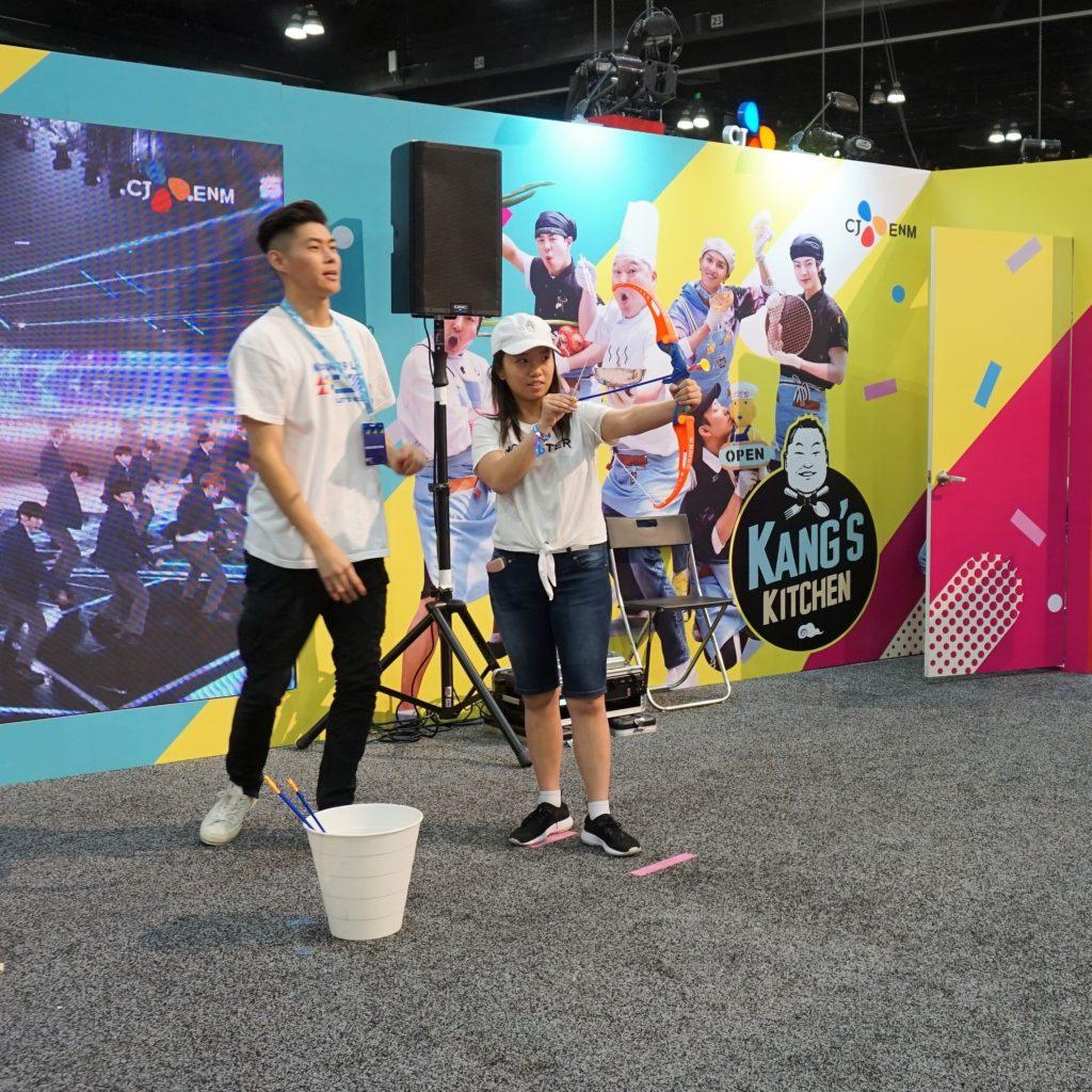 KCON LA 2019 - Games