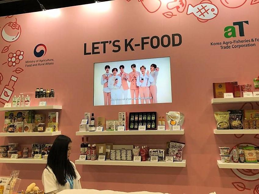 KCON LA 2019 - K-Food