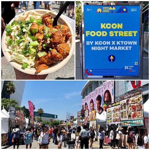 KCON LA 2019 - KCON Food Street