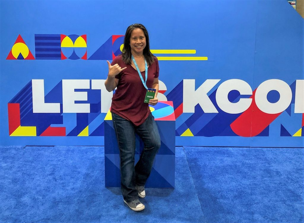 KCON LA 2019 - Step and Repeat