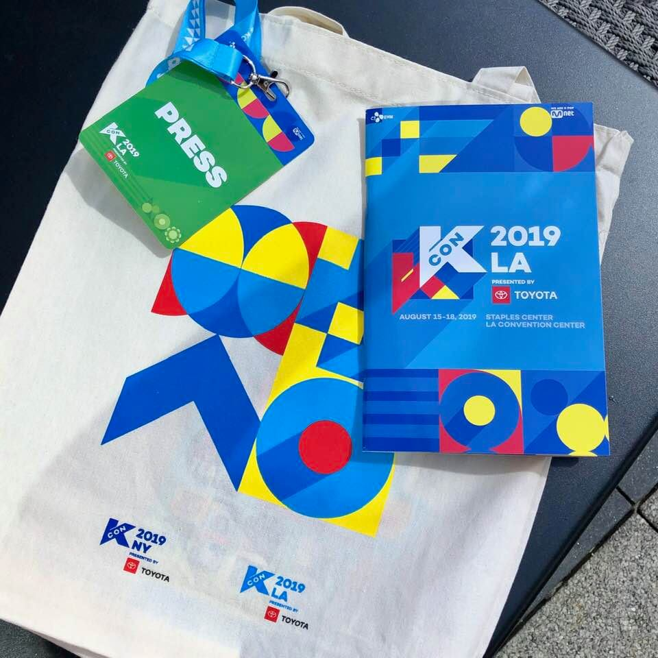 KCON LA 2019 - Welcome Packet