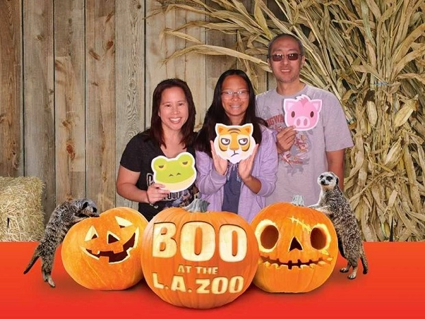 Boo at the LA Zoo 2019 Photo Booth