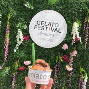 Gelato Festival Orange Chocolate Gelato