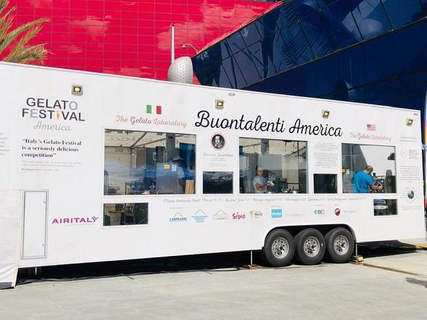 Gelato Festival mobile gelato lab