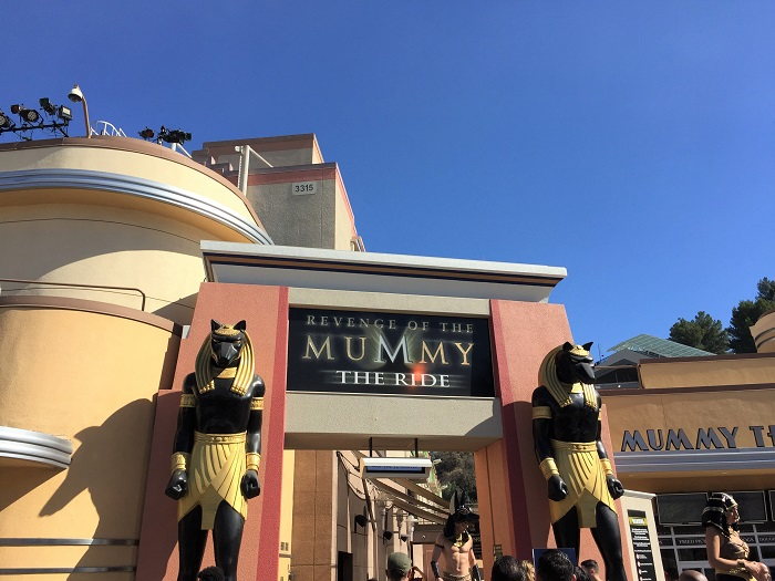 Running Universal - Mummy Ride
