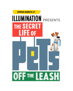 Secret Life of Pets - Opening Date Logo