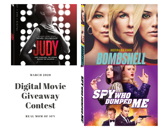Digital Movie Giveaway