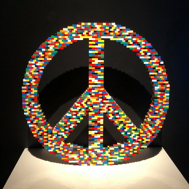 LEGO Peace Sign