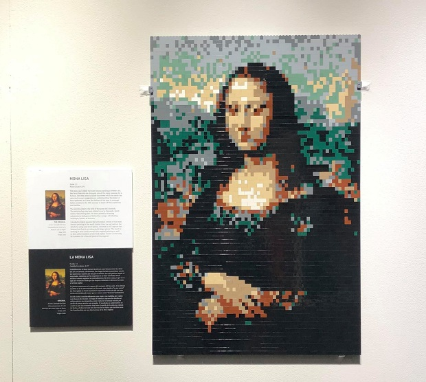 The Art of the Brick - Mona Lisa
