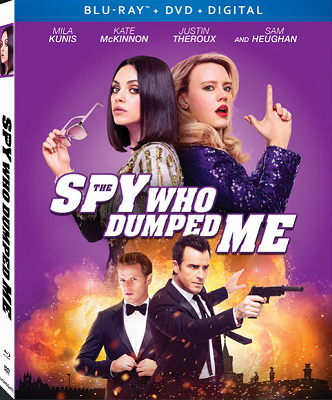 The Spy Who Dumped Me Box DVD