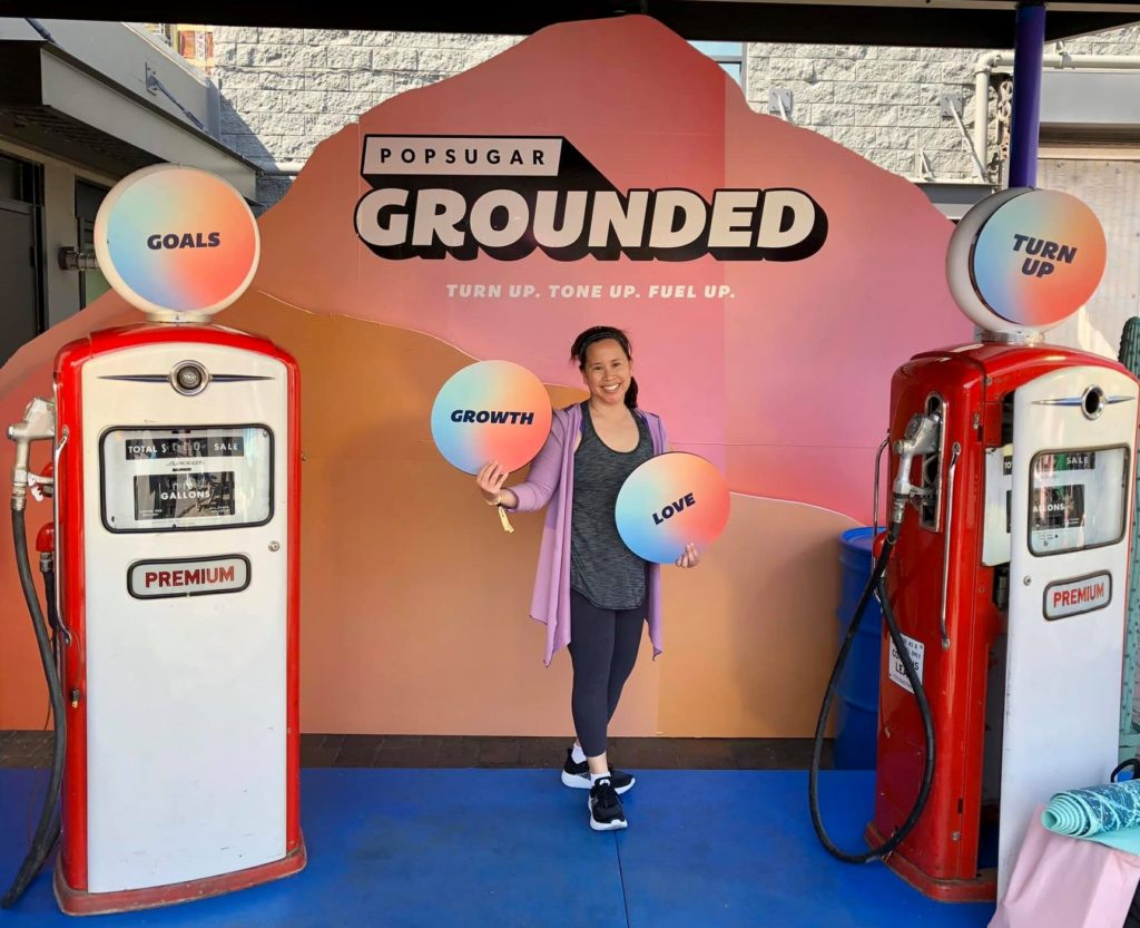 PopSugar Grounded - Step and Repeat