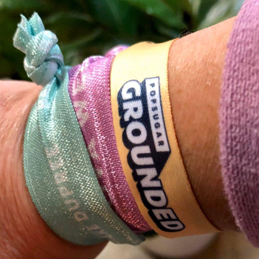 PopSugar Grounded - wrist bands