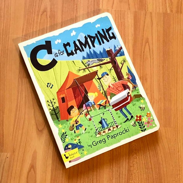 Children's Books - C Is For Camping