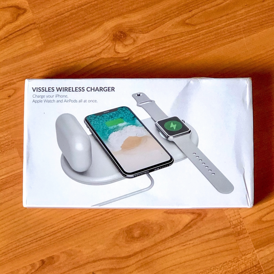 Vissles Wireless Charger Packaging