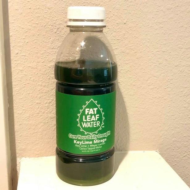 Fat Leaf Water - KeyLime Mirage