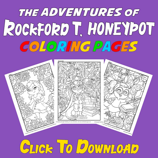 Adventures of Rockford T. Honeypot - Coloring Pages_Images