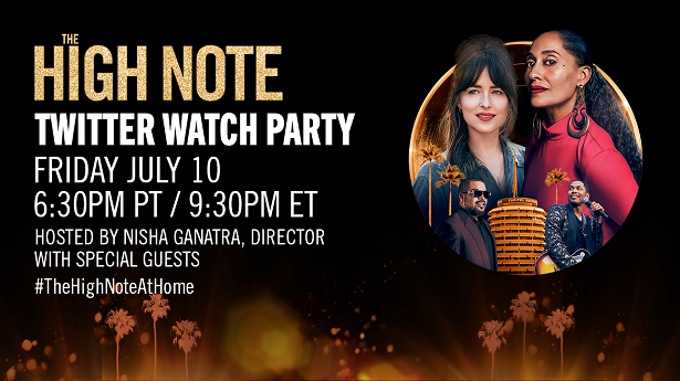 The High Note - Twitter Watch Party