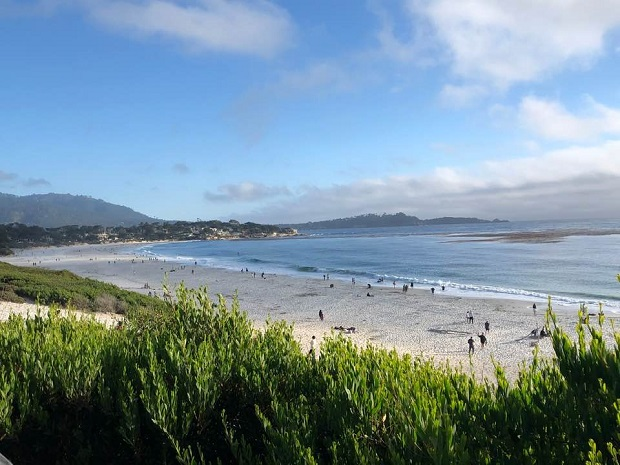 Carmel Beach - beach view