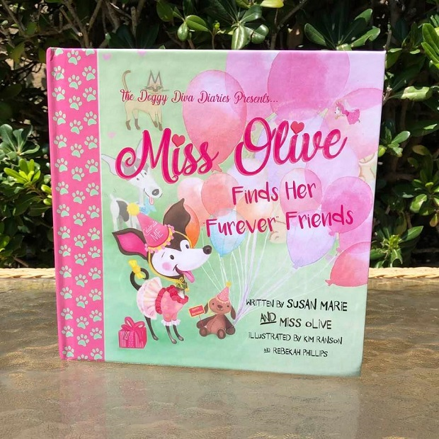 Miss Olive Finds Her Furever Friends - cover