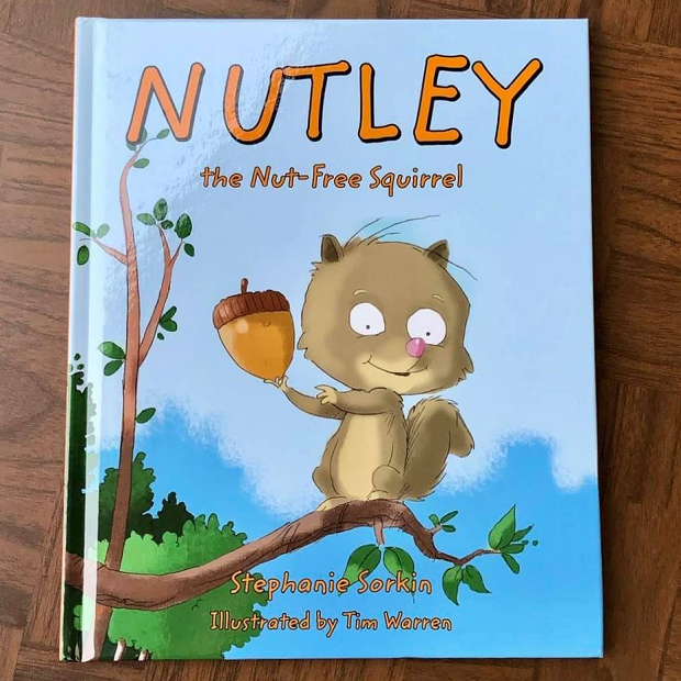 Nutley the Nut-free Squirrel = book giveaway