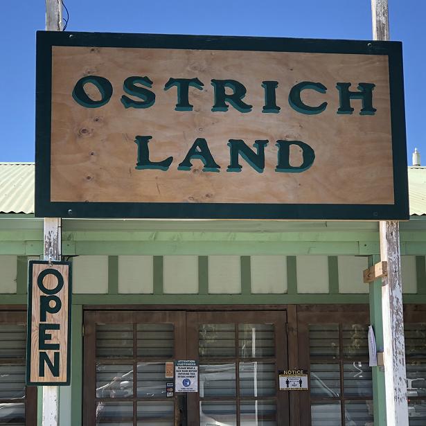 Ostrich Land - entrance