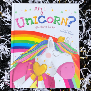 Am I a Unicorn - Book Cover