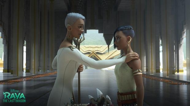 Raya and the Last Dragon - Chief Virana and Princess Namaari