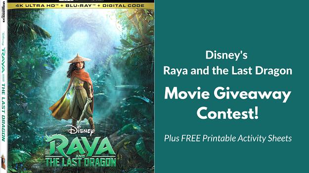 Raya and the Last Dragon - Digital Movie Giveaway