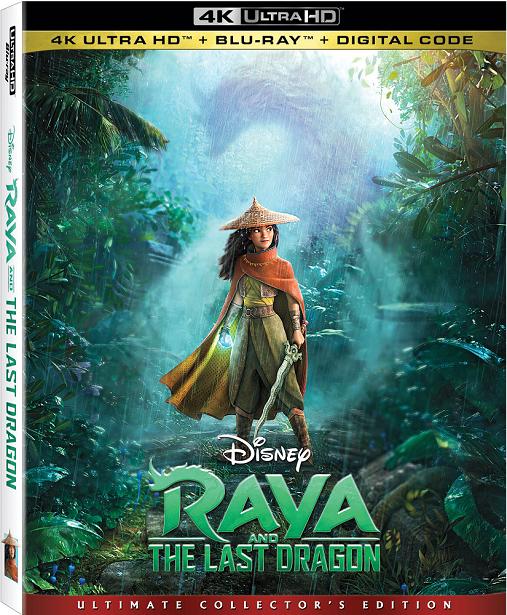 Raya and the Last Dragon - Blu-ray Cover