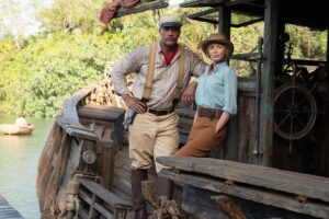 Jungle Cruise - Johnson and Blunt
