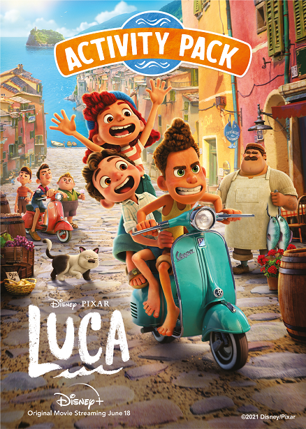 Luca - Activity Pack