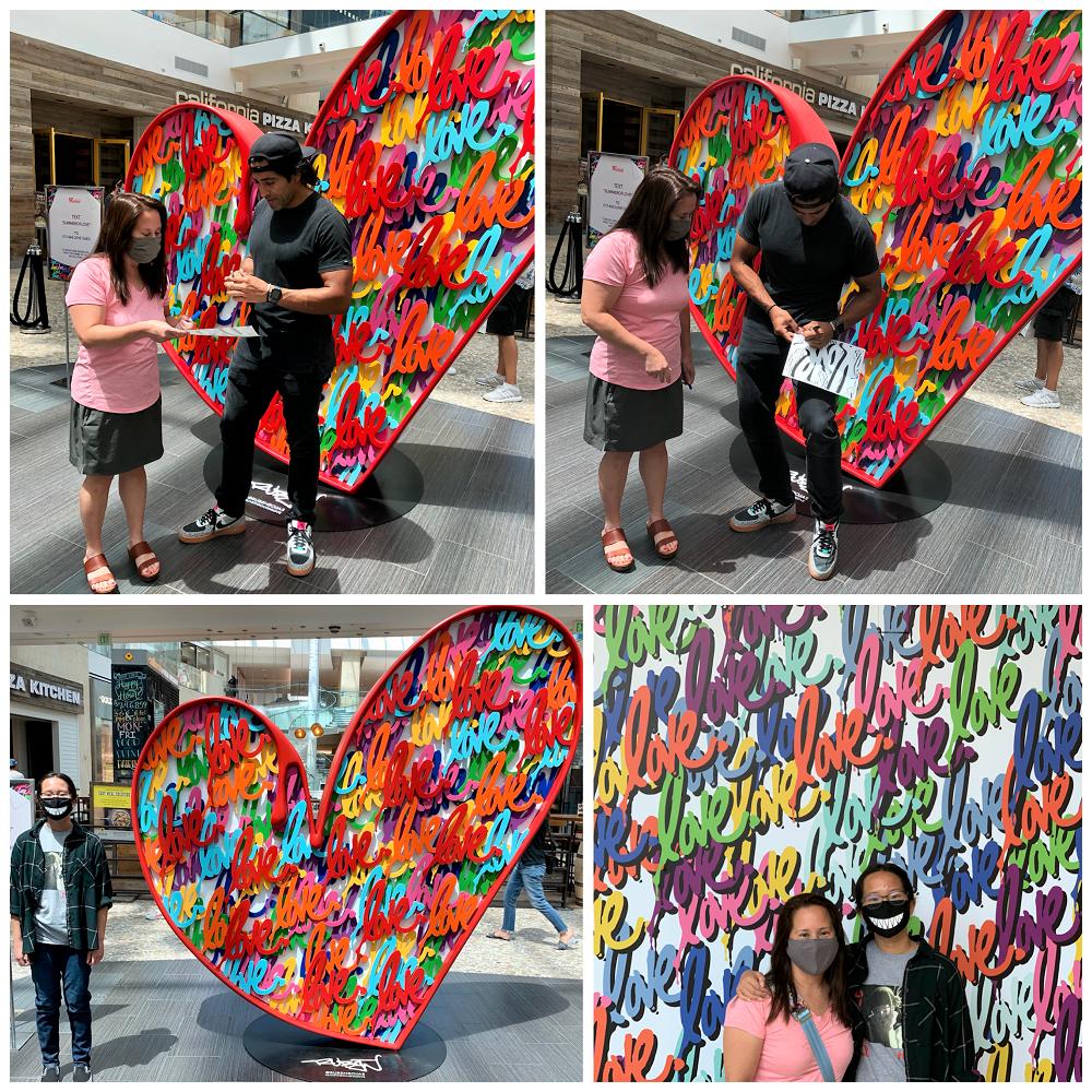 Ruben Rojas - Westfield Topanga_Art Installation_Real Mom of SFV
